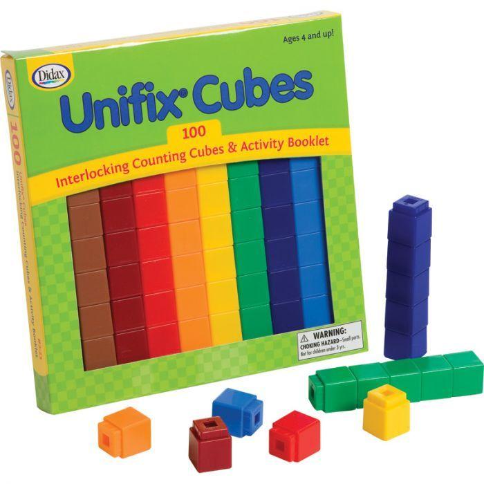 Unifix Cubes, Set Of 100