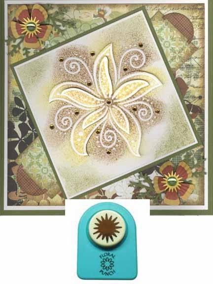 Floral Punch Star Stamen (Small)