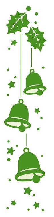 Lea'bilities Border Embossing Folder - Christmas Bells