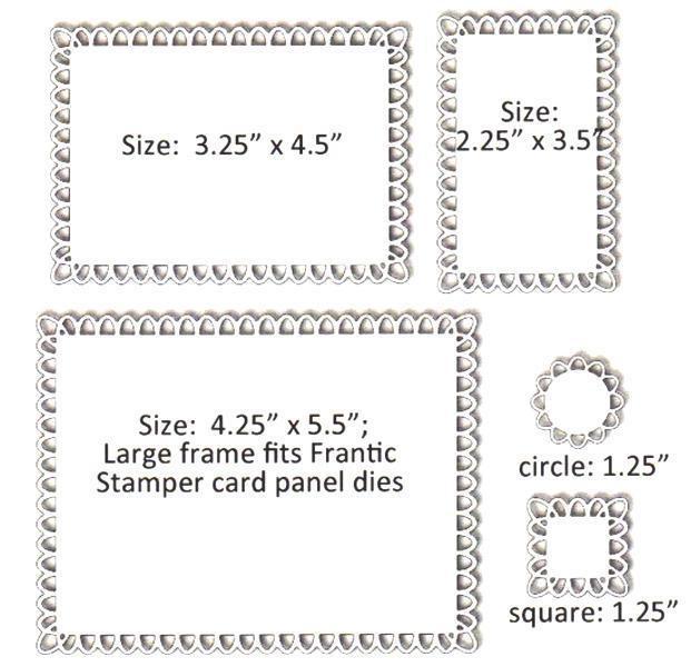 Frantic Stamper Precision Die - Arches Frames