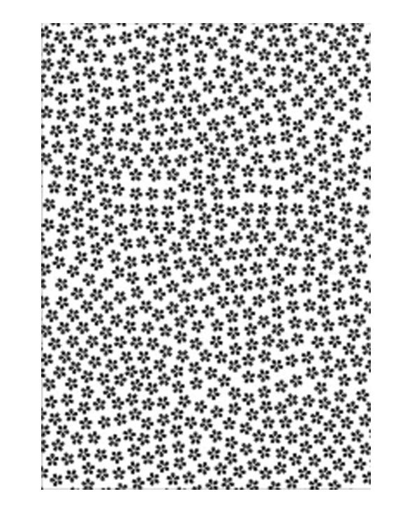 Embossing Folder A4 Size - Small Flowers