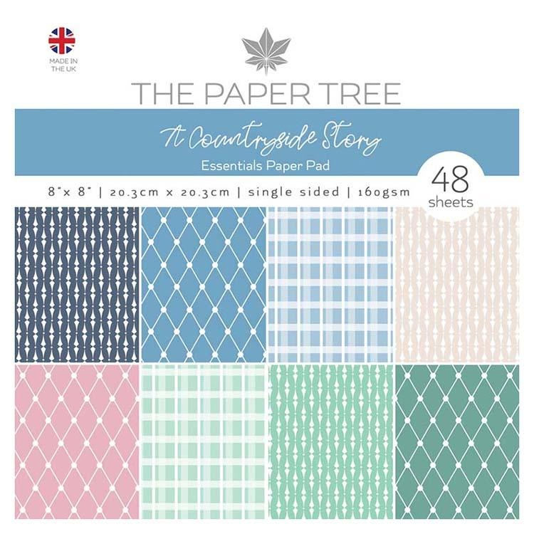 The Paper Tree A Countryside Story 8x8 Essentials Pad