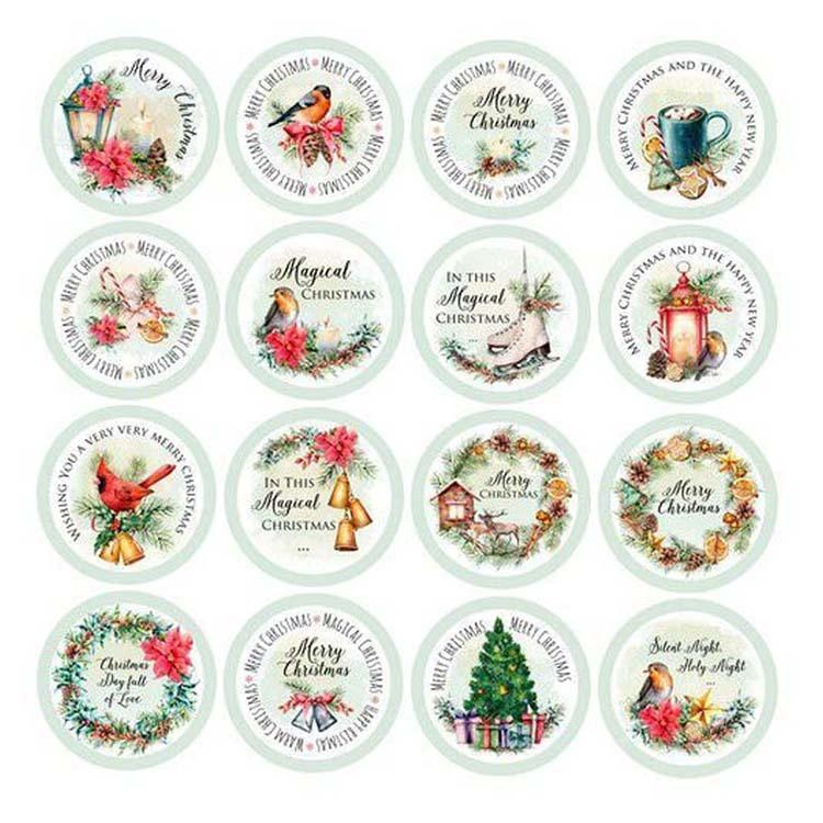Craft & You Design Christmas Vibes Die-cuts