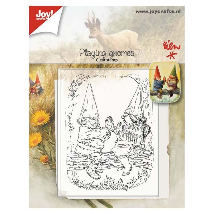 Joy! Crafts Clear Stamp - Playing Gnomes