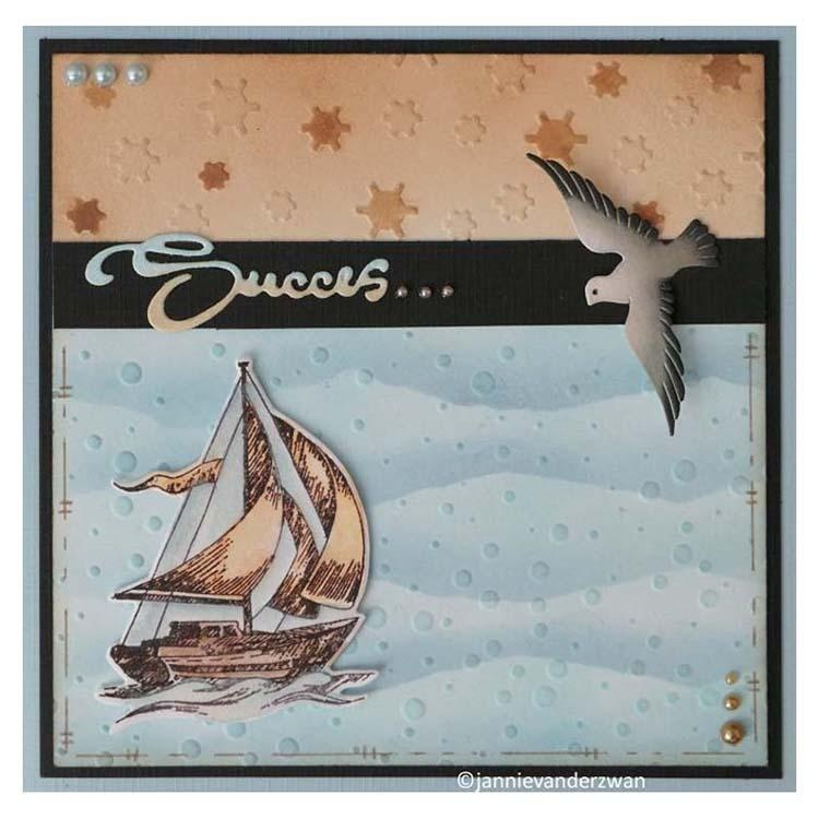 Nellie's Choice 6 X 6 Embossing Folder Snowflakes