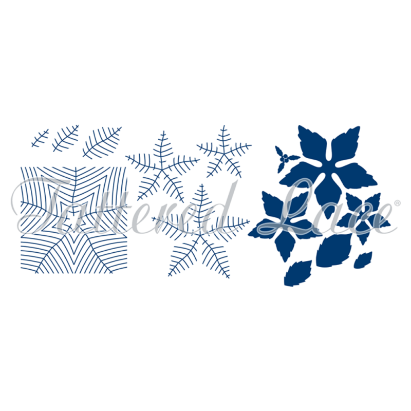 Essentials By Tattered Lace - Mega Poinsettia
