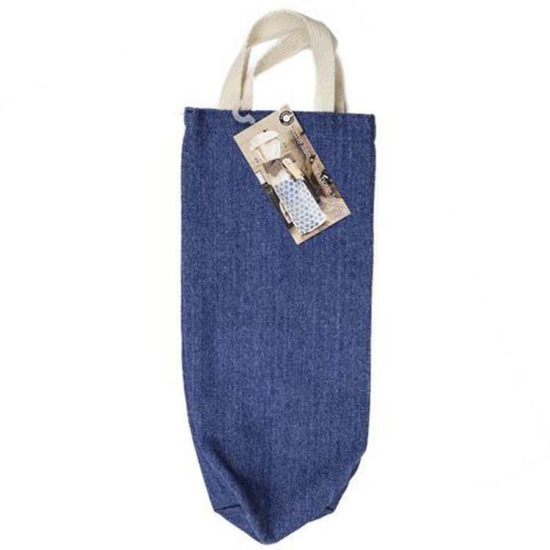 Canvas Corp Canvas Colored Wine Totes