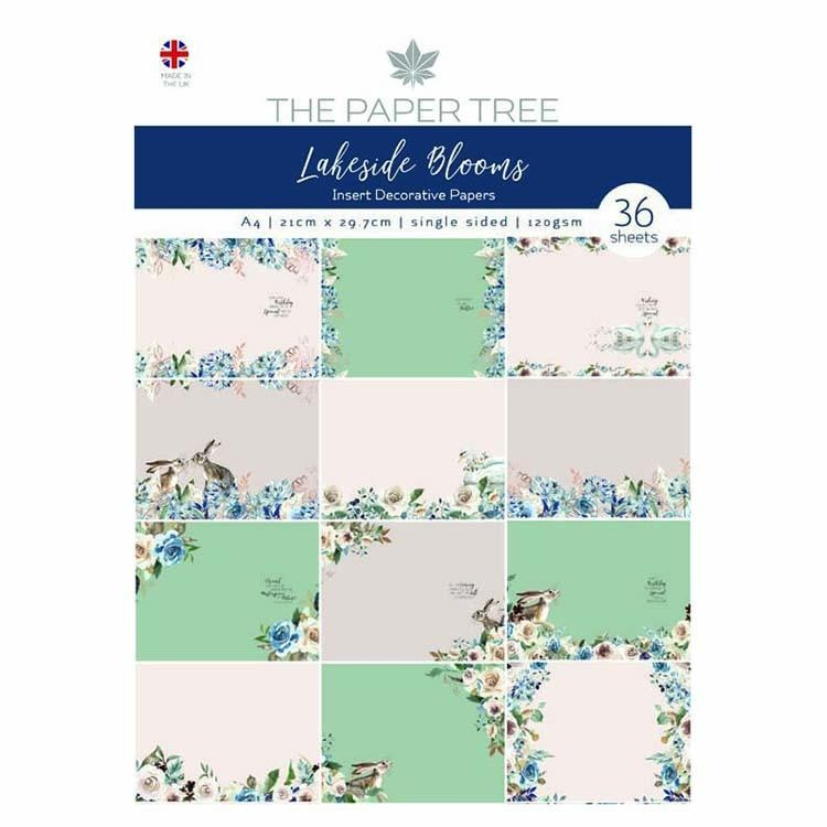 The Paper Tree Lakeside Blooms Insert Collection