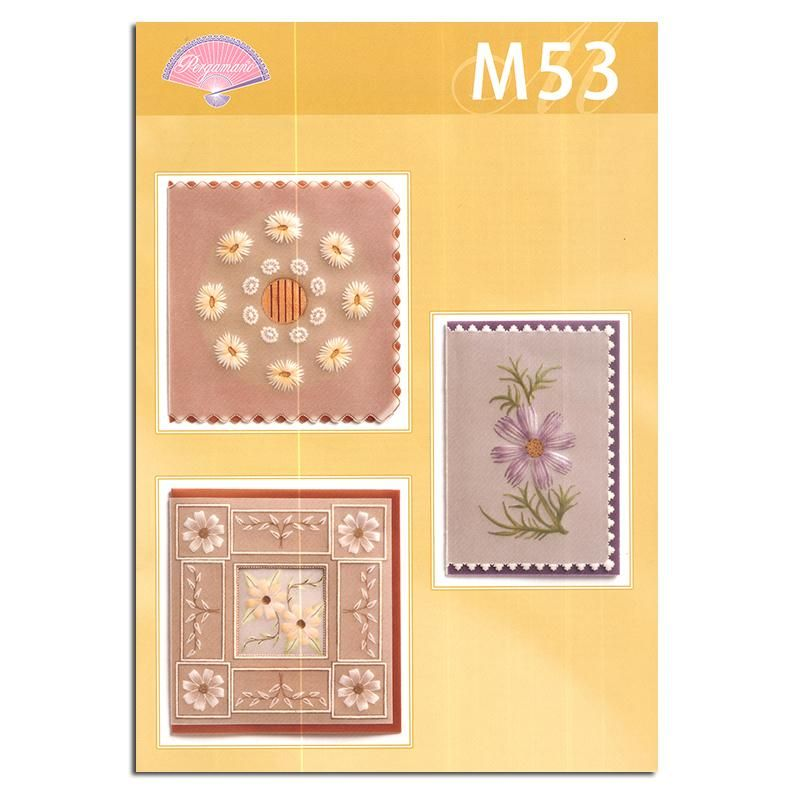 Pergamano Pattern Booklet M53 Painting With Tinta's