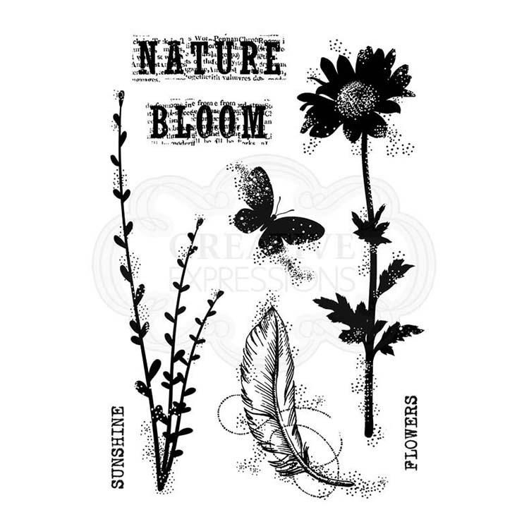 Woodware Clear Singles Blooming Nature