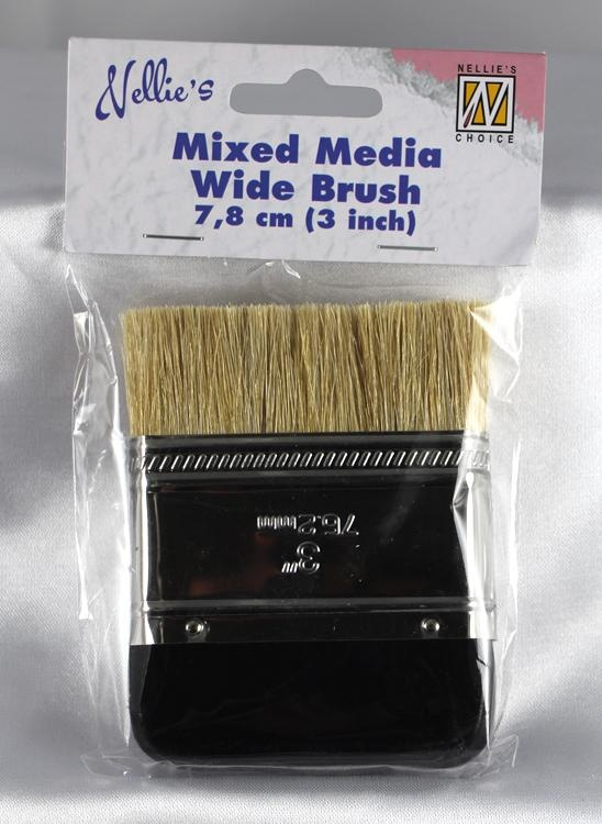 Mixed Media Wide Brush 7.8Cm (3 Inch)