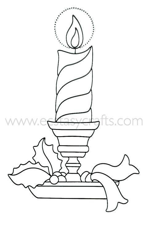 Lea'bilities Clear Stamp - Candle