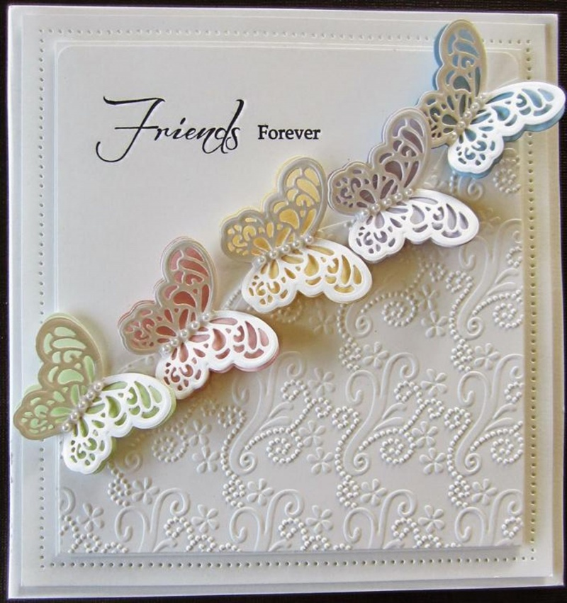 Creative Expressions Embossing Folder A4 Size - Floral Brocade