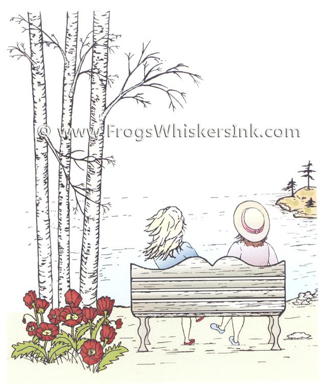 Frog's Whiskers Ink Stamps - By The Lake