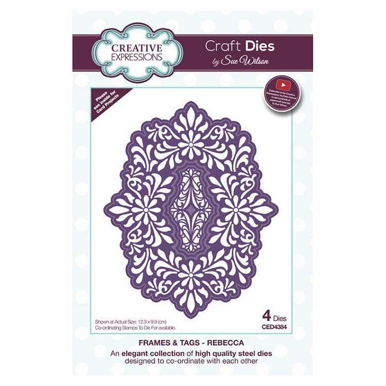 Dies By Sue Wilson Frames And Tags Collection Rebecca