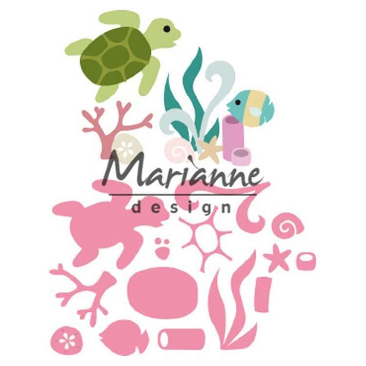 Marianne Design Collectables Sealife By Marleen
