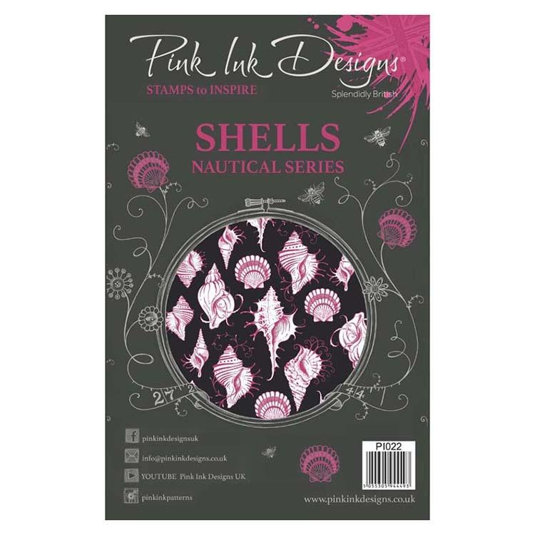 Pink Ink Designs A5 Clear Stamp Shells