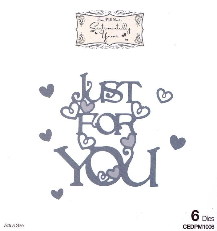Phill Martin Sentimentally Yours: From The Heart Collection: Just For You