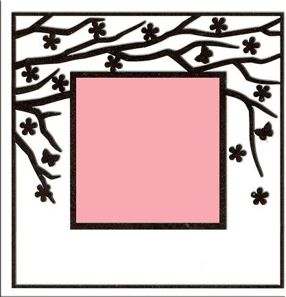 Embossing Folder - Spring In The Air (square)