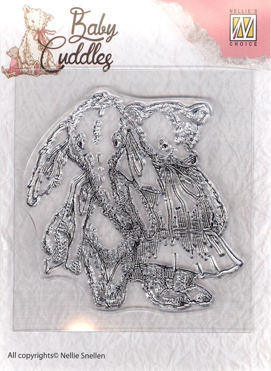 Clear Stamp - Baby Cuddles - Cuddly Friends