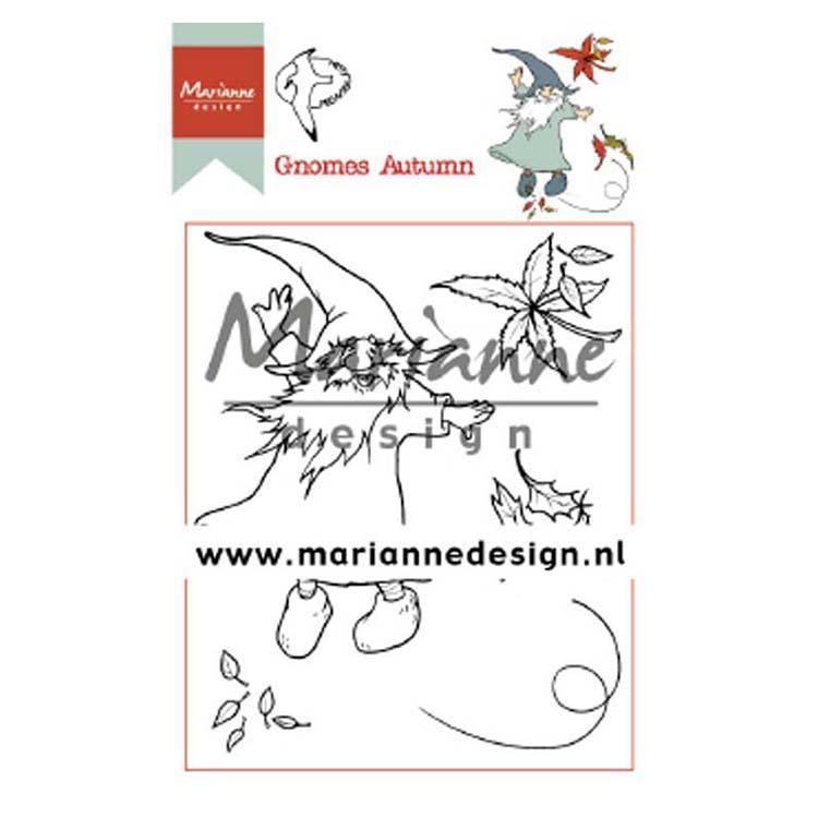Marianne Design Clear Stamps Hetty's Gnomes Autumn
