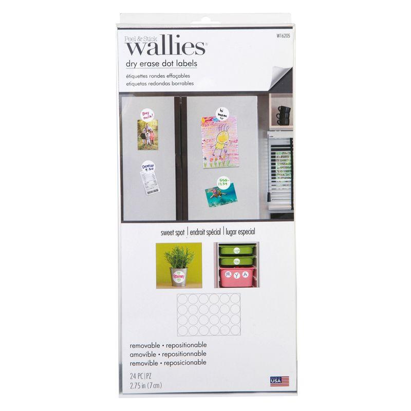 Dot Labels Wallies Dry Erase