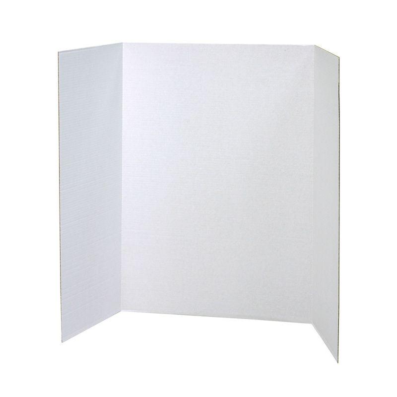 Presentatn Brd Wht Single Wall 8/ct 40in X 28in