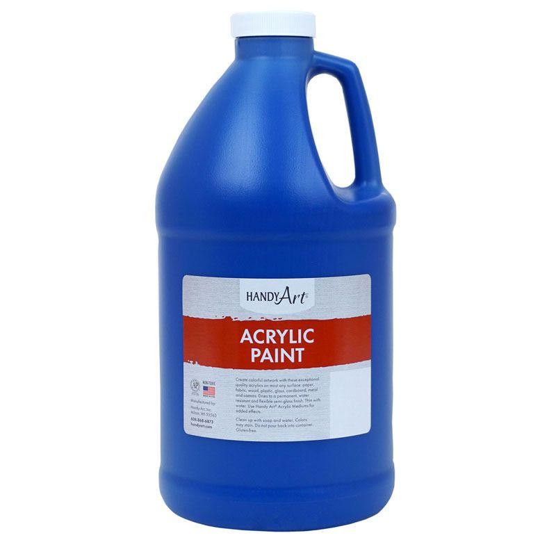 Acrylc Paint Half Gallon Ultra Blue
