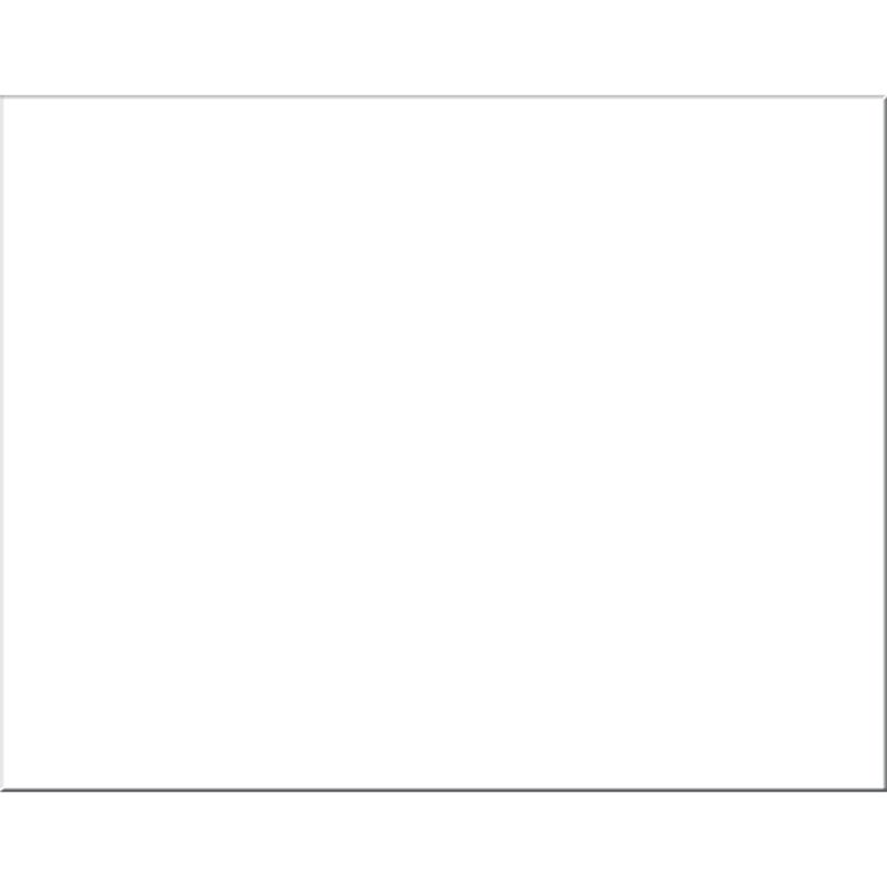 Poster Board 4Ply White 25 Sheets