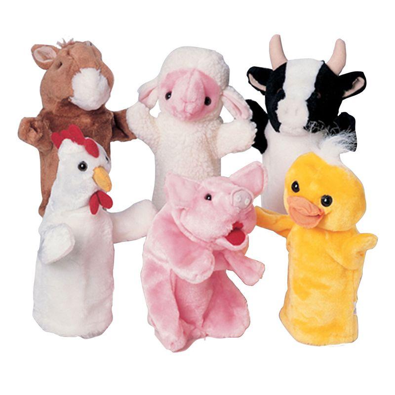 Farm Favorites Puppets Set Of 6