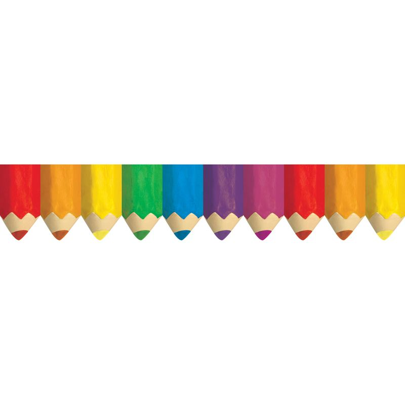 Colored Pencils Borders