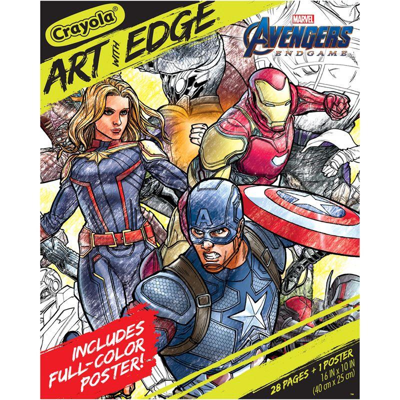 Art With Edge Marvel Avengers