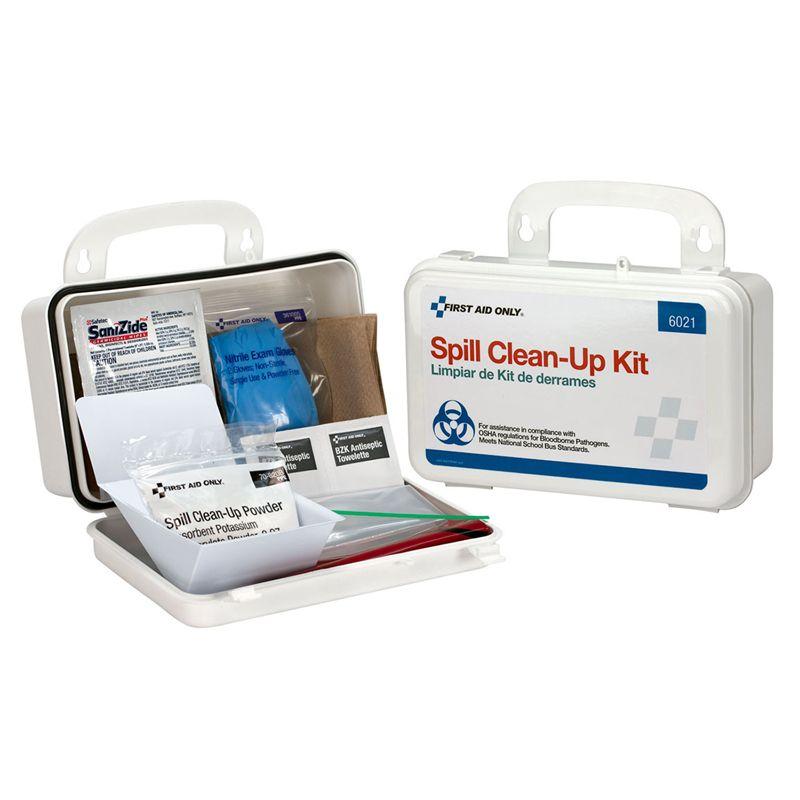 Spill Clean Up Kit Plastic Case
