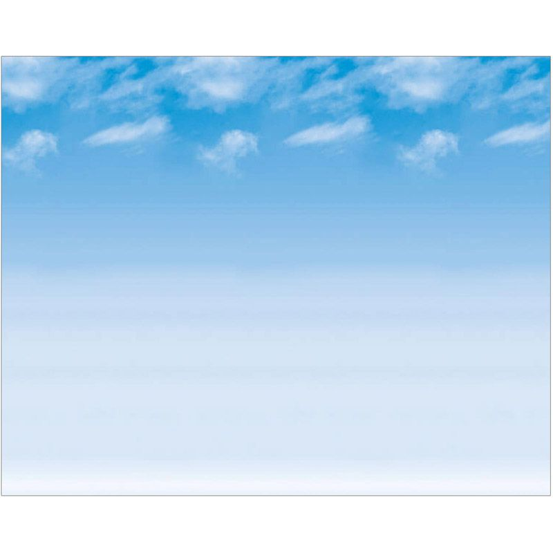 Fadeless 48X12 Wispy Clouds 4Rls Per Carton