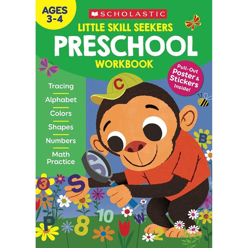 Little Skill Seekers Preschool Workbook