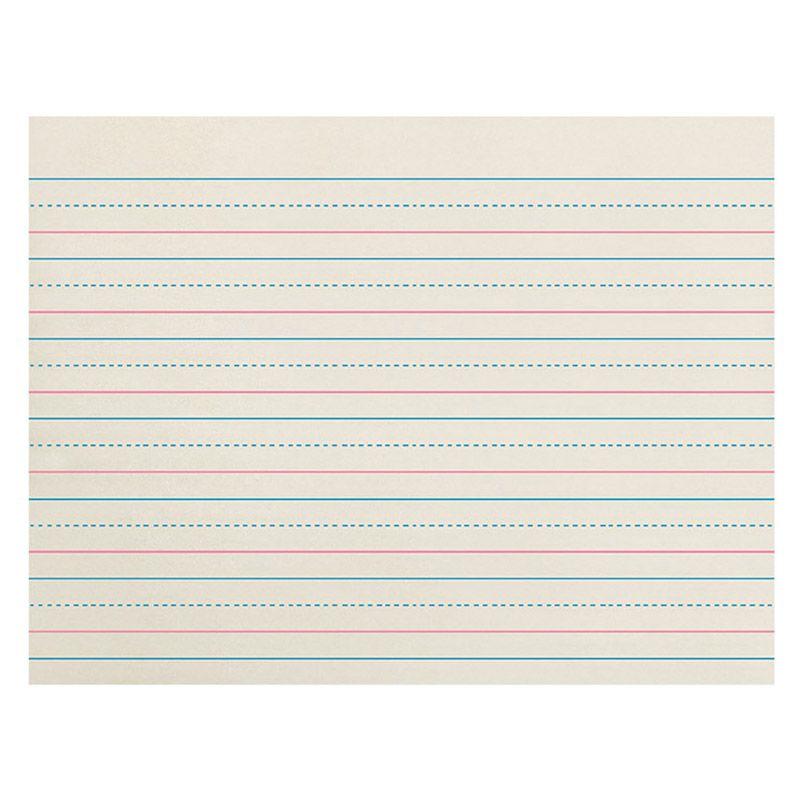 Zaner-Bloser Newsprint Ream 3/4In Ruled Long Way 500 Shts