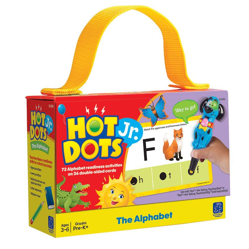Hot Dots Jr Cards The Alphabet