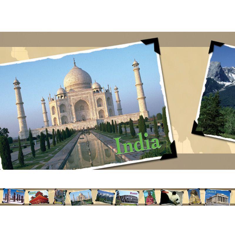 Around The World Photo Border