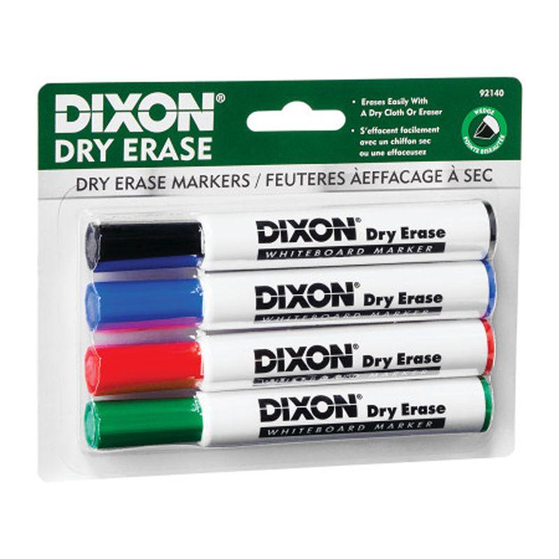 Dry Erase Markrs Wedge Tip Set Of 4