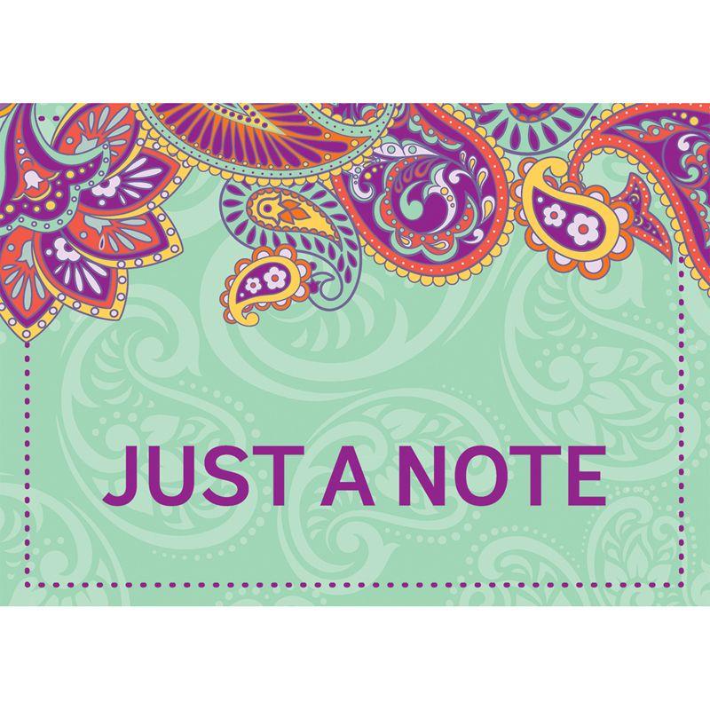 Positively Paisley Teacher Card