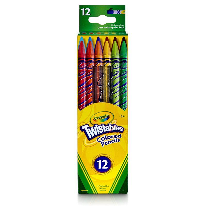 Crayola Twistables 12 Ct Colored Pencils