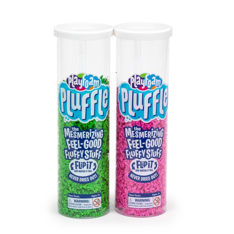 Playfoam Pluffle 2 Pk Pink & Green