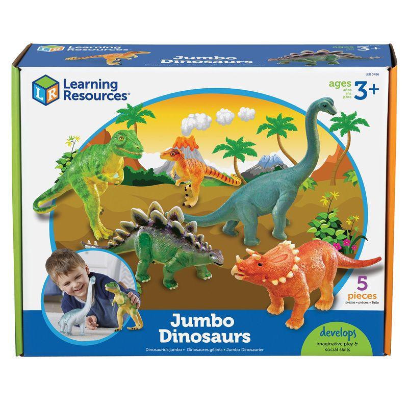 Jumbo Dinosaurs Set Of 5