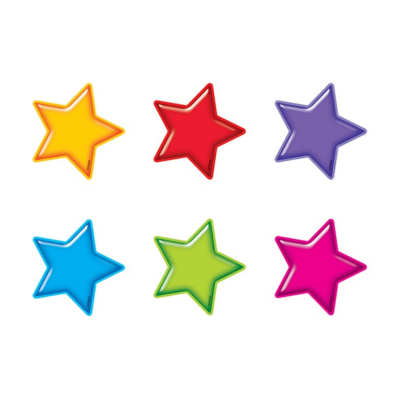 Gumdrop Stars Accents Mini Size Variety Pack