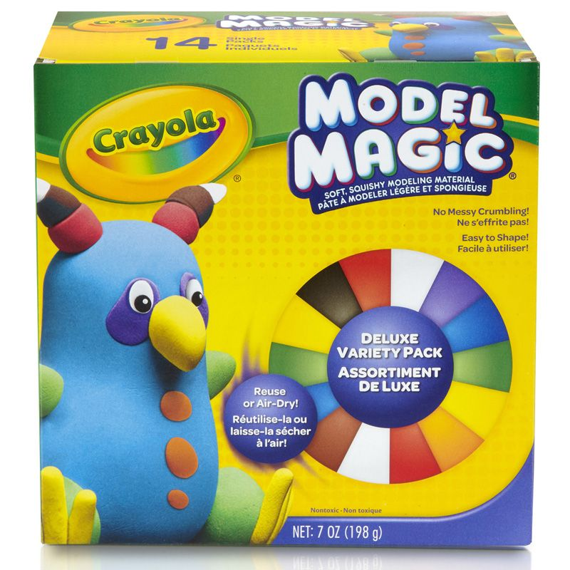 Model Magic 14 Ct Deluxe Variety Pk 9 Colors