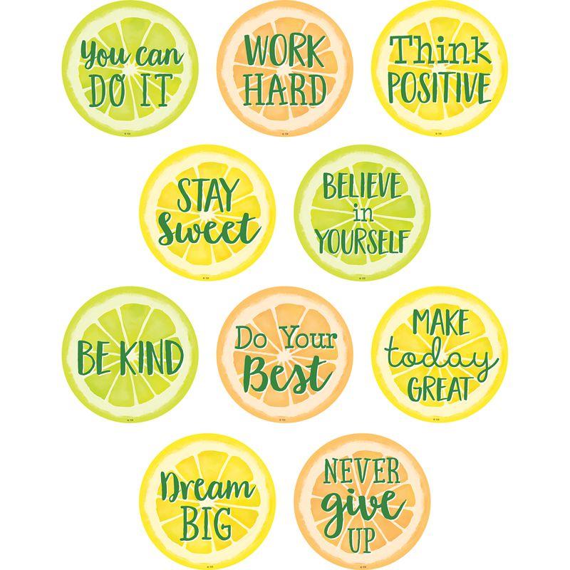 Lemon Zest Positive Saying Accents
