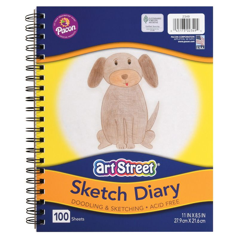 Sketch Book 11in X 8.5in 100 Shts Lightweight