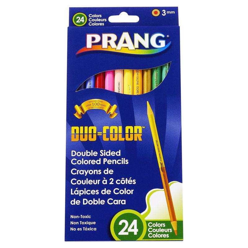 Prang Duo Color Pencils 24 Color St