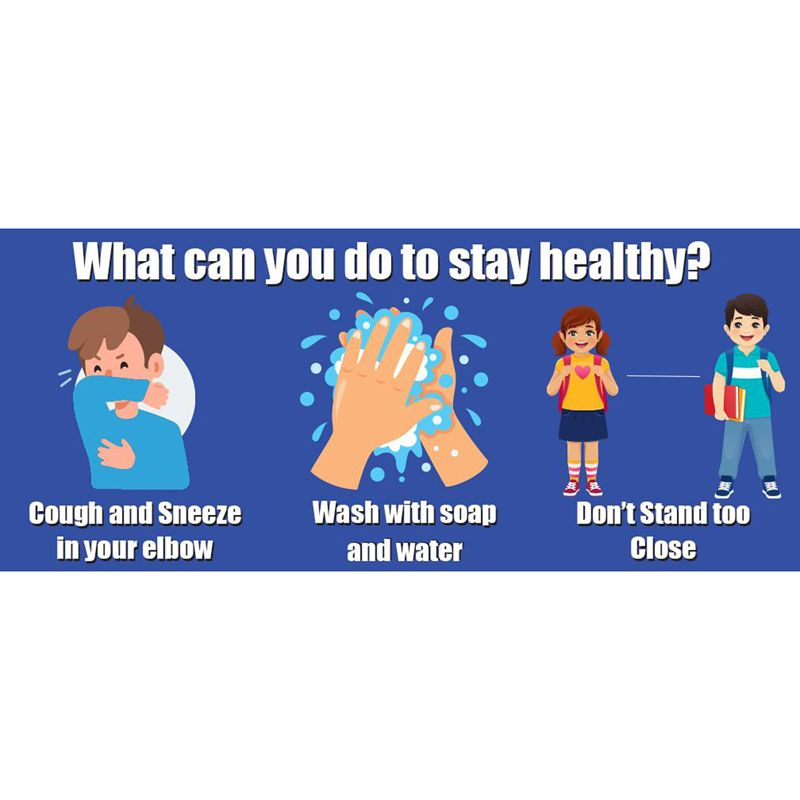 How To Sty Healthy Wall Stickrs 5pk