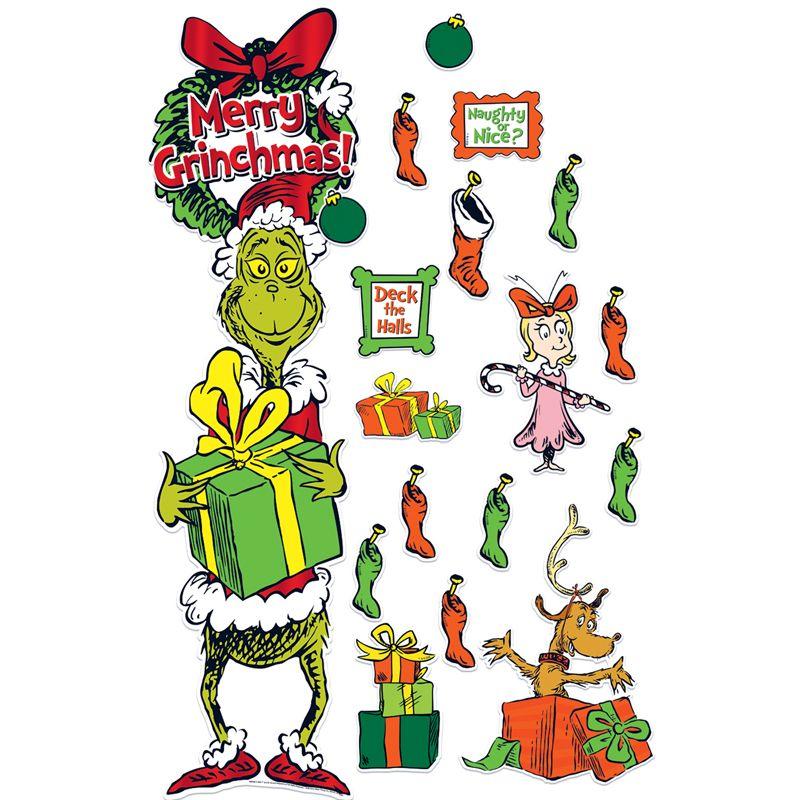 How The Grinch Stole Christmas Door Decor Kit